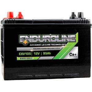 EXV105 Enduroline Calcium Leisure Battery 12V