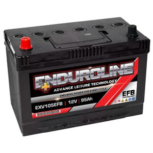 EXV105EFB Enduroline Leisure Battery 95Ah