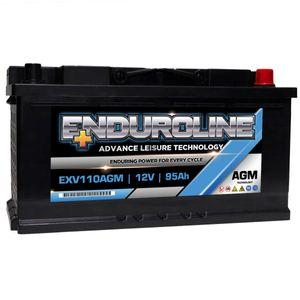 EXV110AGM Enduroline AGM Leisure Battery 95Ah