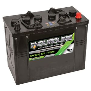 EXV125 Enduroline Calcium Leisure Battery 12V