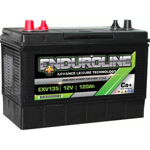 EXV135 Enduroline Calcium Marine and Leisure Battery