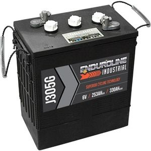 Enduroline J305G Deep Cycle Battery 6V 330Ah