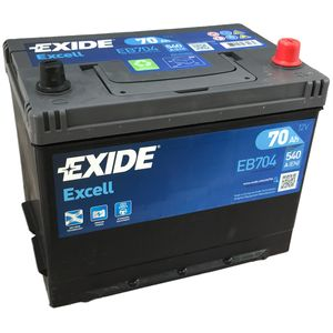 EB704 Exide Excell Car Battery 030SE