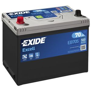 031SE Exide Excell Car Battery EB705 (EX22)