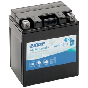 AGM12-14 Exide Motorcycle Battery 12V (4919)