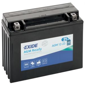 AGM12-23 Exide Motorcycle Battery 12V (4922)