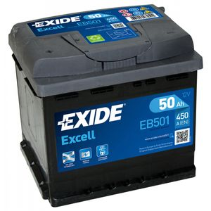 077SE Exide Excell Car Battery EB501