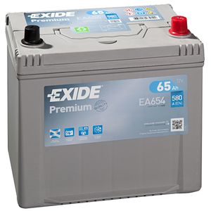 EA654 Exide Premium Car Battery 005TE