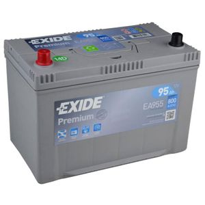 EA955 Exide Premium Car Battery 250TE