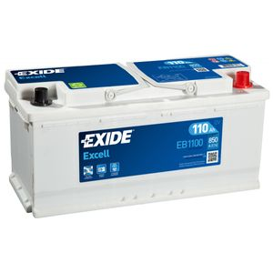 EB1100 Exide Car Battery (W020SE) 12V 110Ah 850CCA