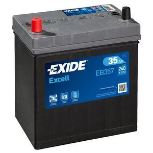 055SE Exide Excell Car Battery EB357 (EX55)