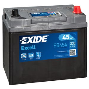 044SE Exide Excell Car Battery EB454 (EX44)
