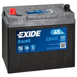 043SE Exide Excell Car Battery EB455 (EX43)