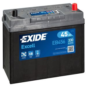 154SE Exide Excell Car Battery EB456