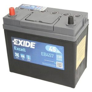 155SE Exide Excell Car Battery EB457