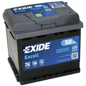 EB500 Exide Excell Car Battery 079SE