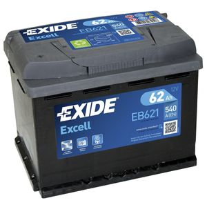 EB621 Exide Excell Car Battery 078SE