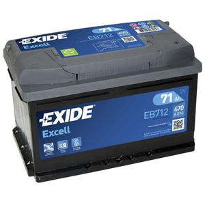 096SE Exide Excell Car Battery EB712