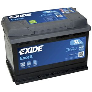 067SE Exide Excell Car Battery EB740 (EX18)