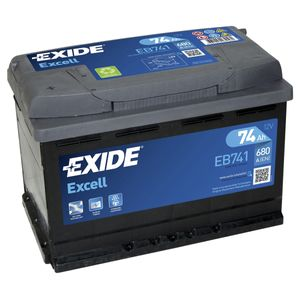 082SE Exide Excell Car Battery EB741