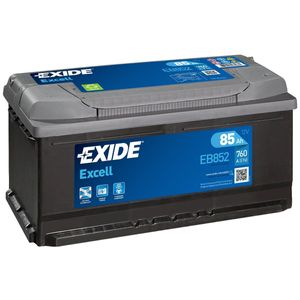 EB852 Exide Excell Car Battery 112SE