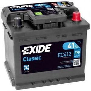 063RE Exide Classic Car Battery EC412