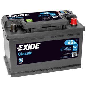 096RE Exide Classic Car Battery EC652