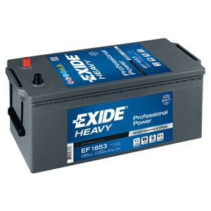 EF1853 Exide Professional Power HDX Battery 12V 185Ah