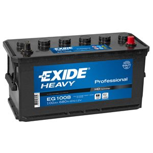 W221SE Exide Heavy Duty Commercial Professional Battery 12V 100Ah EG1008