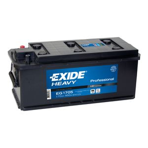 W620SE Exide Heavy Duty Commercial Professional Battery 12V 170Ah EG1705