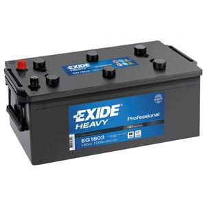 W629SE Exide Heavy Duty Commercial Professional Battery 12V 180Ah EG1803