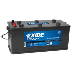 W620SE-OPP Exide Heavy Duty Commercial Professional Battery 12V 180Ah EG1806