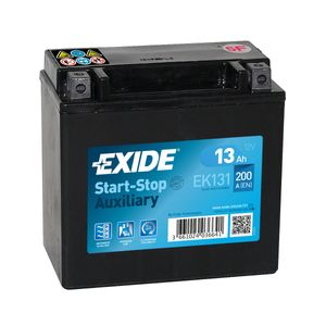 Exide EK131 AGM Auxiliary Car Battery