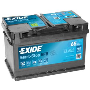Exide 100 Start Stop EFB Car Battery 65Ah EL652