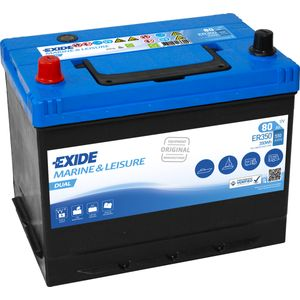 Exide ER350 DUAL Leisure Battery 80Ah (Porta Power PP75)