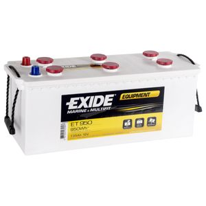ET950 Exide Equipment Marine and Multifit Leisure Battery