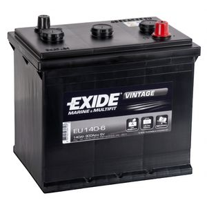 EU140-6 Exide Vintage Marine and Multifit Leisure Battery