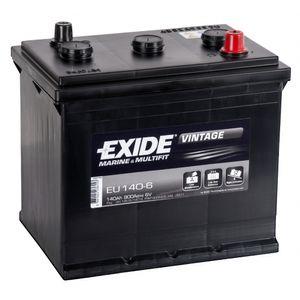 EU140-6 Exide Vintage Marine Leisure Battery