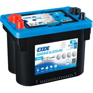 Exide EP450 DUAL AGM Battery (Maxxima MAX900DC)