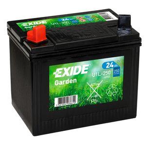 896 Exide U1L-250 Lawn Mower Battery 12V 24Ah 4901