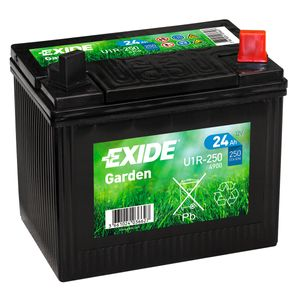 895 Exide U1R-250 Lawn Mower Battery 12V 24Ah 4900