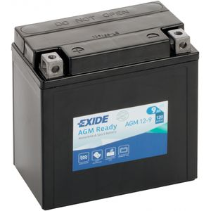 AGM12-9 Exide Batterie De Moto 12V (4913)