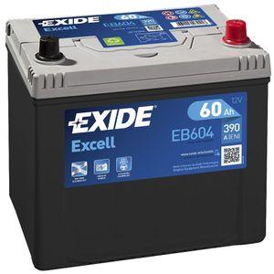 005SE Exide Excell Car Battery EB604 (EX14)