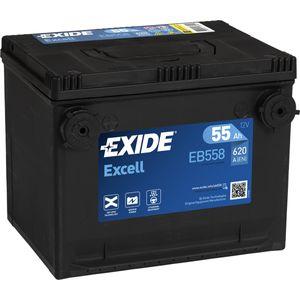 EB558 Exide Excell Car Battery WG75SE