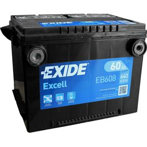 EB608 Exide Excell Car Battery G75SE