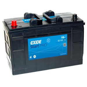W664SE Exide Heavy Duty Commercial Professional Battery 12V 110Ah EG1101