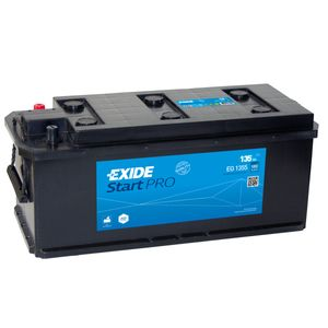 W617SE Exide Heavy Duty Commercial Professional Battery 12V 135Ah EG1355