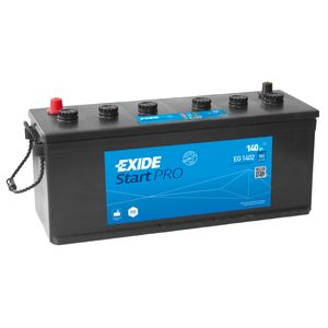W638SE Exide Heavy Duty Commercial Professional Battery 12V 140Ah EG1402