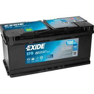 Exide 019 EFB Car Battery 100Ah EL1000