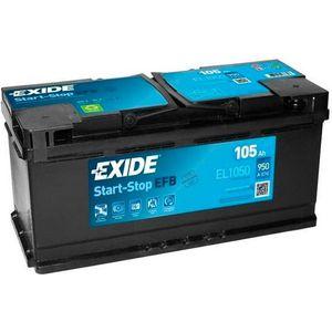 Exide 020 EFB Car Battery 105Ah EL1050